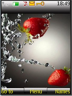 WaterStrawberry s40 V3 theme