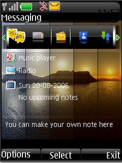 Mirror sunset s40v3 theme by shadow_20