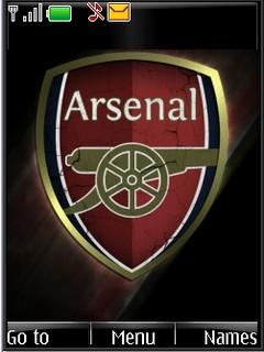 Arsenal logo s40v3 theme by shadow_20