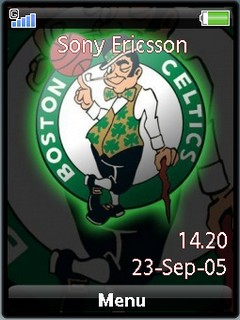 Celtics sonyericsson theme by shadow_20