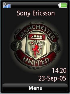 Manutd sonyericsson theme by shadow_20