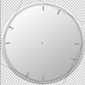 How To Make Rounded Analog Clocks In Photoshop