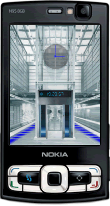 Elevator Flashlite animation screensaver by supertonic