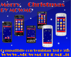 Merry Christmas by Mowmo for S60v3 and S60v5