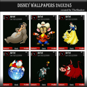 Transparent disney wallpapers