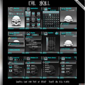 Evil Skull by Igmonius