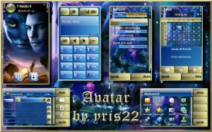 Avatar symbian theme