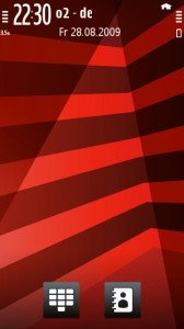 XpressMusic Red Stripes