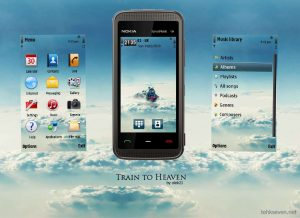 Train To Heaven by olek