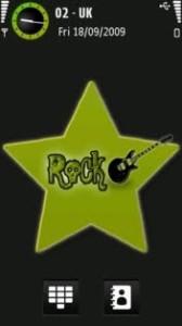 Rock by olek21 symbian 5th theme