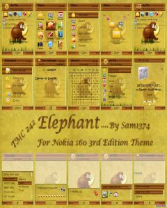 Elephant by sam