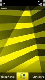stripes  nokia x6 original theme
