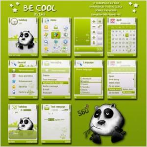 panda theme Be Cool By Lhs