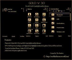 gold v 3.0 premium theme