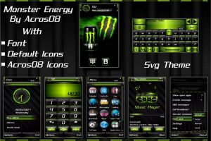 monster energy by acros