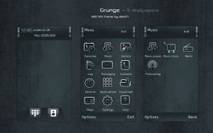 grunge pattern theme by olek