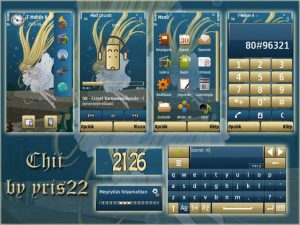 chii symbian 5th theme