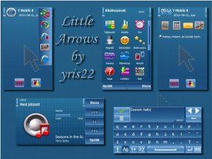 arrow cupid symbian theme