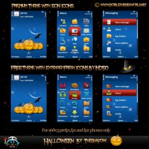 Halloween Nokia Theme by TheShadow
