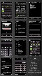 New black phone theme