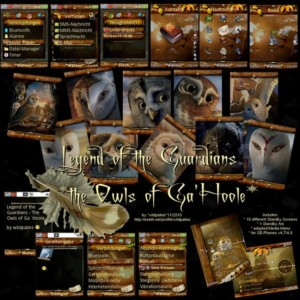 legend of guardians theme
