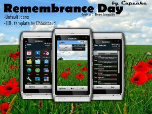 Remembrance Day Theme