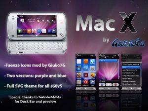 macX theme