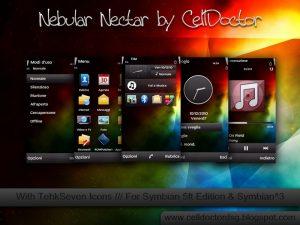 nebular nectar symbian^3 themes