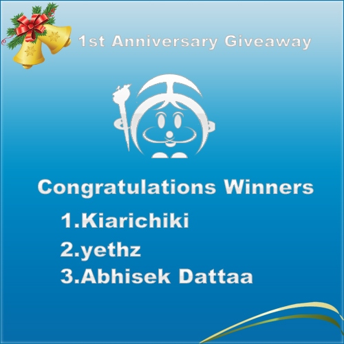 MobileThemesWorld Giveaway Winners
