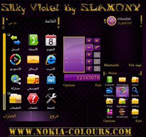 silky violet by slamony