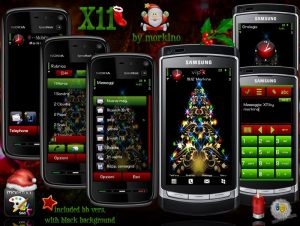 merry christmas theme x11