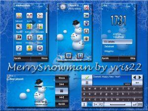 merrysnowman by yris22
