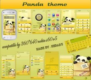 panda s60v5 theme