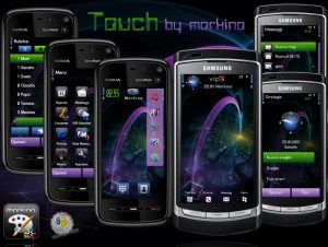 touch nokia theme