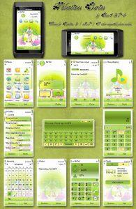 valentine symbian 3 theme