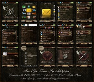 iron lion mobile themes for sony ericsson mobiles free
