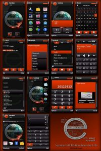 symbian 60 5th edition theme save the earth by longhairsteff