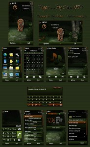 tiger symbian mobile themes