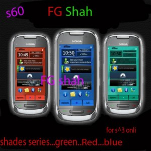 rgb color series nokia n8 theme shade