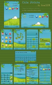 cute nature mobile theme