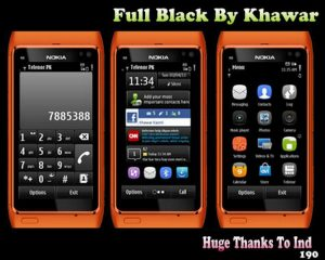 full black theme for s3 mobiles