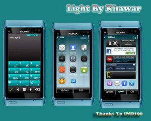 symbian 3 themes light by khawar