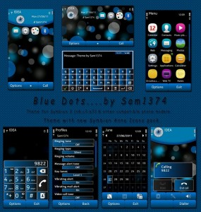 Symbian themes for Nokia N8 Bluedots by sam