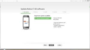Nokia Symbian Anna OS install
