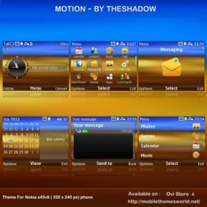 Motion for NokiaC3 and X2-01 by TheShadow
