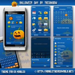halloween day 2011 symbian anna theme by theshadow
