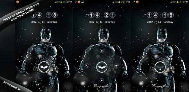 The Dark Knight Rises V 2 Go Locker theme by theshadow
