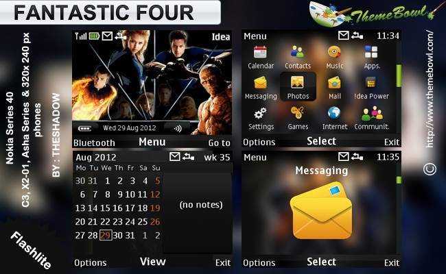 Fantastic Four movie nokia theme